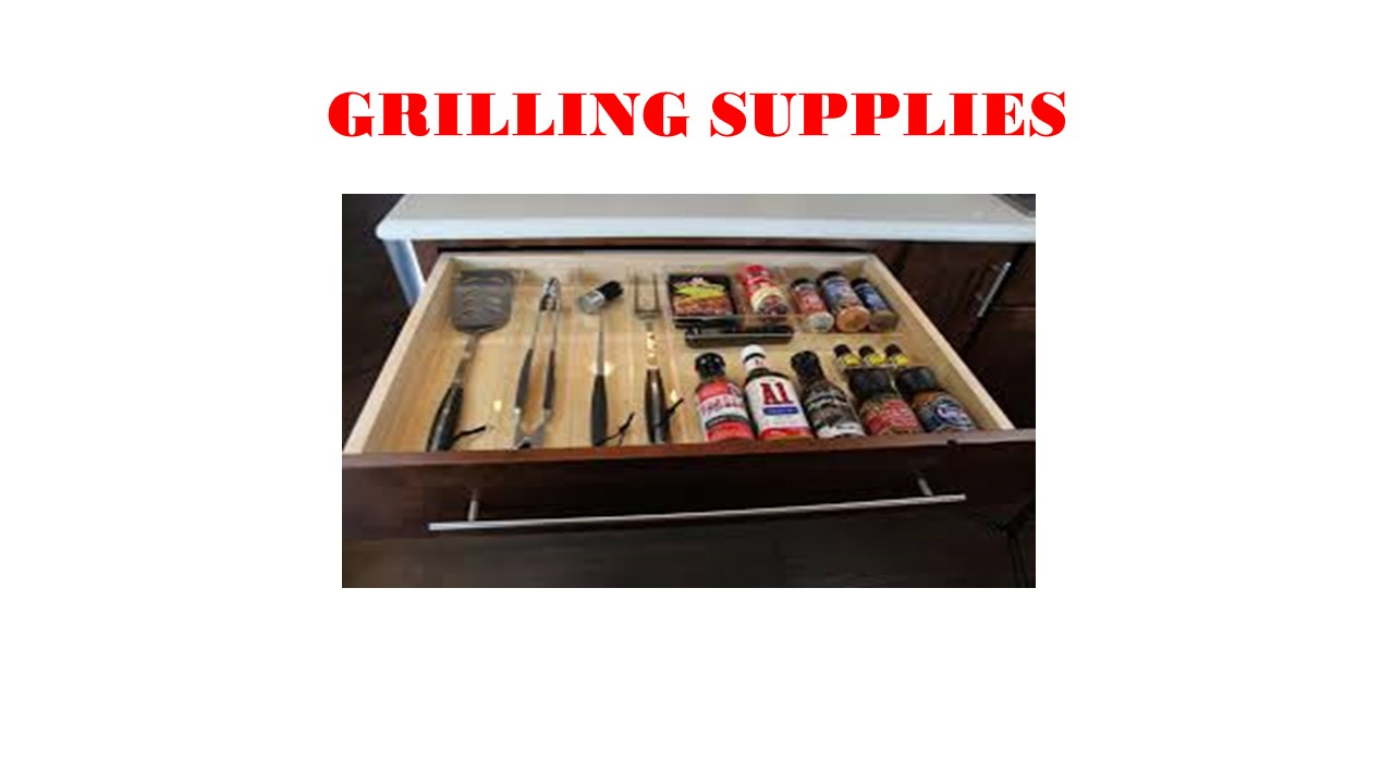 Grilling Supples